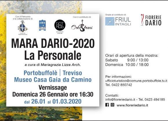 La personale di Mara Dario dal 26 gennaio a Portobuffolè (TV)