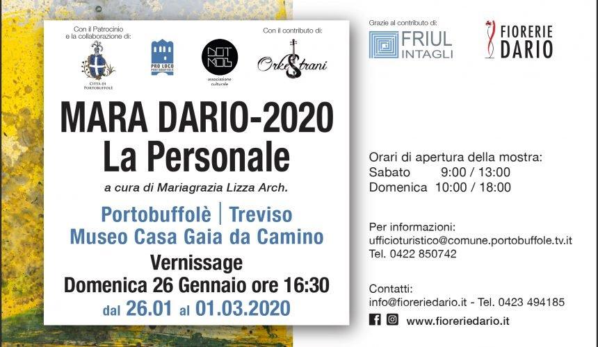 La personale di Mara Dario a Portobuffolè (TV)
